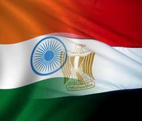 egypt president tour to india