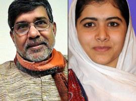 Kailash Satyarthi, Malala Yusufzai