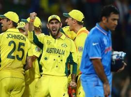 Australia beat india in World Cup semi-final 2015